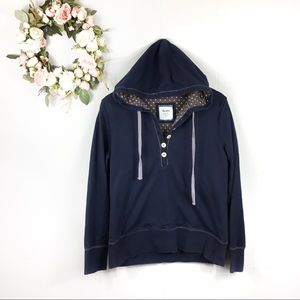 Boden Large Button Hoodie